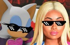 Rouge and Blac Chyna Savage Mode
