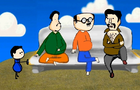 the 4 upright men of Kota with hindi Audio. Animation by Subin Philip
