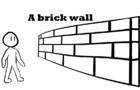 A brick wall
