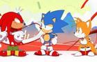 A Sonic Mania livestream promo