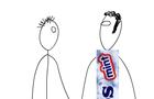 Mentos Man vs. Smoker Joe