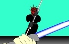 Duel with Darth Maul