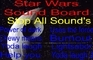 Star Wars Sound Board