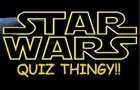 Star Wars Quiz Thingy