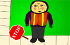 The Crossing Guard Lady
