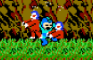 Megaman vs Ghosts&Goblins