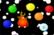Blaze Ball in Space