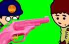 I shot Davey with an....
