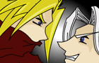 KH: Cloud vs Sephiroth 2