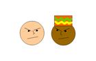 white guy meets black guy
