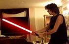 Scoot With Lightsaber