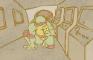Luis vs. Ninja Turtle