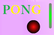 Pong: One Frame Game