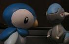 Intense Pokemon Battle