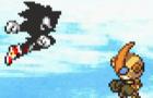 Dark Sonic VS Emerl