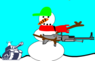 dress up the snowman
