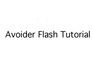 Avoider Flash Tutorial