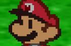 A Paper Mario Fight 6.