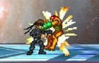 Brawl: Snake vs Samus