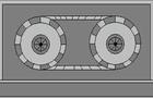 Hidden tape CB