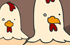 chickens... are creapy...