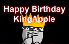 Happy Birthday KingApple