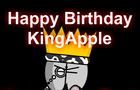 Happy Birthday KingApple