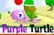 purple turtle