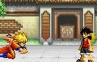 Goku vs Luffy fight