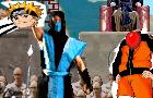 Sub-Zero Vs. Naruto