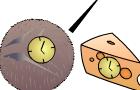 Coconut & Cheese Clock