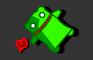 Happy Green Robot