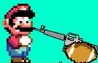 Mario is stuck