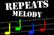 Repeats melody