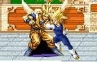 Goku Vs Majin Vegeta Evil