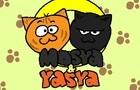 Mosya&Yasya the two cats