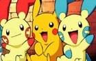 Pokemon eating sushi:)!