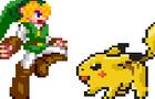 Link VS Pikachu