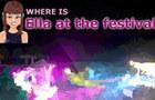 Ella at the festival