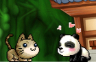 Pandabear & Kitten <3