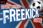 Study in the UK Free-kick