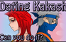 Kakashi Dating Game