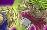 goku and vegeta vs broly