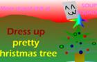Dress up pretty xmas tree