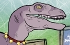 Al the Xmas Velociraptor