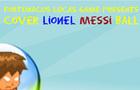 cover lionel messi ball