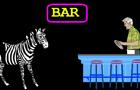 Zebra Joke: Adapted Horse