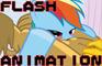 Rainbow Dash & Gilda