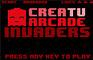 Creatuarcade Invaders