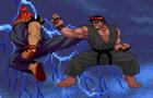 Ryu vs Akuma